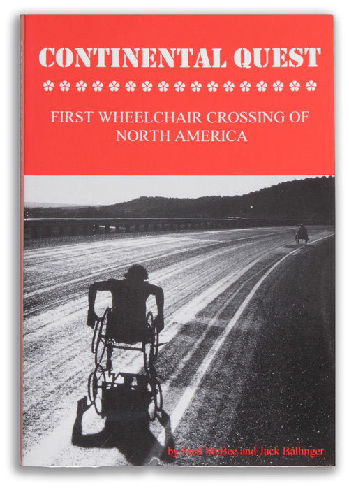 book cover: Continental Quest - First Wheelchair Crossing of North America