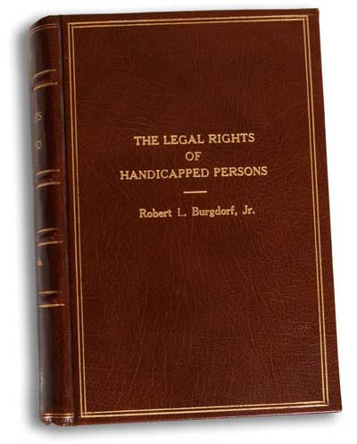 Legal Rights of Handicapped Persons casebook cover