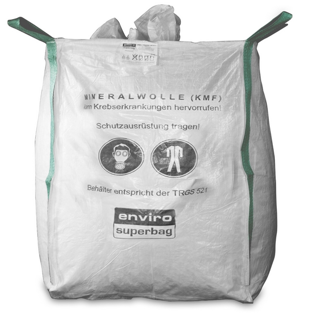 Mineral Wool in trash